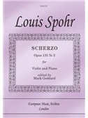 Scherzo Op. 135 No. 2 (from 6 Salon Pieces) (Violin & Piano)