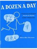 A Dozen A Day: Livre 1 - Preparatoire