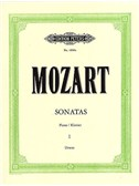 W.A. Mozart: Sonatas For Piano Volume 1 (Edition Peters Urtext)
