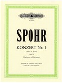 Louis Spohr: Clarinet Concerto No.1 In C Minor Op.26 (Clarinet/Piano)