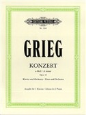 Edvard Grieg: Concerto In A Minor Op.16 For Piano Duet