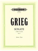 Edvard Grieg: Sonata In E Minor Op.7