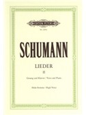 Robert Schumann: Complete Songs Vol.2: 87 Songs (High Voice). Sheet Music