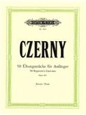Carl Czerny: 50 Beginner's Exercises Op.481