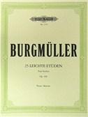 Friedrich Burgmüller: 25 Easy and Progressive Studies Op