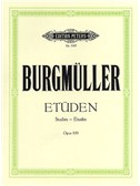 Friedrich Burgmuller: Studies For Piano Op.109