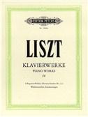 Franz Liszt: Piano Works Volume 4 (Edition Peters Urtext)