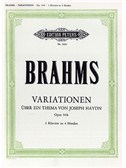 Johannes Brahms: St. Anthony Chorale And 8 Variations Op. 56b For Two Pianos