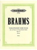 Johannes Brahms: Variationen Und Fuge Op.24