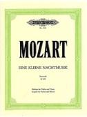 W.A. Mozart: Serenade No.13 in G K.525 'Eine Klein Nachtmusik' (Violin/Piano)