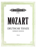 W.A. Mozart: German Dances (Piano)