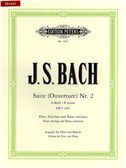 J.S. Bach: Suite No.2 In B Minor BWV 1067 - Flute/Piano (Edition Peters Urtext)