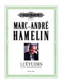 Marc André Hamelin: 12 Etudes In All The Minor Keys