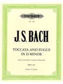 J.S. Bach: Toccata And Fugue In D Minor - Piano Solo