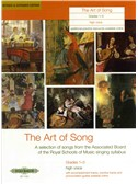 The Art Of Song: Grade 1-3 (High Voice) - Revised Edition