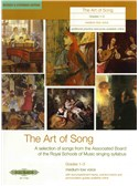 The Art Of Song: Grade 1-3 (Medium-Low Voice) - Revised Edition