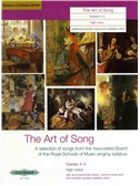 The Art Of Song: Grade 4-5 (High Voice) - Revised Edition