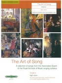 Art Of Song Grade 8 (High Voice) - Revised Edition