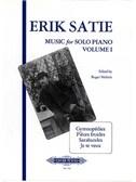 Erik Satie: Music For Solo Piano - Volume 1