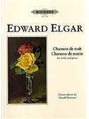 Edward Elgar: Chanson De Nuit/Chanson De Matin Op.15 - Violin/Piano (Edition Peters Urtext)