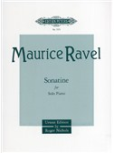 Maurice Ravel: Sonatine For Piano (Edition Peters Urtext)