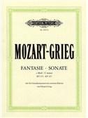W.A. Mozart/Edvard Grieg: Fantasie And Sonata In C Minor KV 475/457