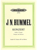 Johann Nepomuk Hummel: Concerto For Trumpet And Orchestra In E Flat (Trumpet In B Flat/Piano)