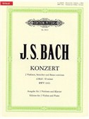 J.S. Bach: Double Concerto In D Minor BWV 1043 (2 Violins/Piano)