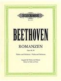 L.V. Beethoven: Romances Op.40/Op.50 (Violin/Piano)