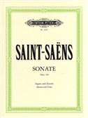 Camille Saint-Saens: Bassoon Sonata Op.168