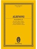 Tomaso Albinoni: Magnificat Study Score