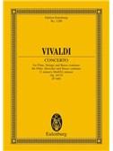 Antonio Vivaldi: Flute Or Treble Recorder Concerto In C Minor Op. 44 No. 19 RV 441 / PV 440