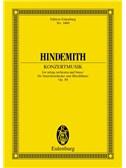 Paul Hindemith: Konzertmusik Op. 50