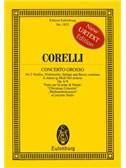 Arcangelo Corelli: Concerto Grosso In G Minor Op.6 No.8 (Eulenburg Miniature Score)