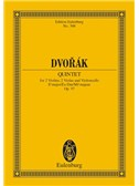 Antonín Dvorák: String Quintet In E Flat Major Op