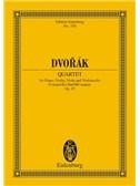 Antonín Dvorák: Piano Quartet In E Flat Major Op. 87 B 162