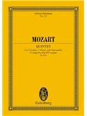 W.A. Mozart: String Quintet In E Flat Major K 614