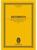 Ludwig Van Beethoven: Concerto No.1 - Piano And Orchestra (Study Score)