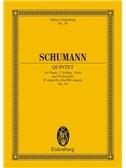 Robert Schumann: Piano Quintet In E Flat Op.4 (Eulenburg Miniature Score)