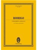 Joaquin Rodrigo: Concierto Andaluz (Eulenburg Miniature Score)