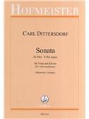 Karl Ditters Von Dittersdorf: Sonate Es-Dur Für Viola Und Klavier