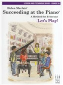 Helen Marlais: Succeeding At The Piano - Grade 2A Lesson And Technique (Book Only)