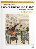 Helen Marlais: Succeeding At The Piano - Grade 2B Lesson And Technique (Book Only)