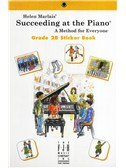 Helen Marlais: Succeeding At The Piano - Grade 2B Sticker Book