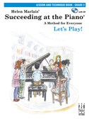 Helen Marlais: Succeeding At The Piano - Grade 3 Lesson And Technique (Book/CD)