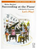 Helen Marlais: Succeeding At The Piano - Grade 4 Lesson And Technique (Book Only)