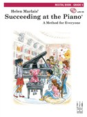 Helen Marlais:  Succeeding At The Piano - Recital Book: Grade 5 (Book/CD)
