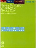 Sight Reading And Rhythm Every Day - Book 4A