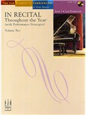 In Recital - Throughout The Year (With Performance Strategies): Volume Two - Book 3