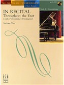 In Recital - Throughout The Year (With Performance Strategies): Volume Two - Book 5